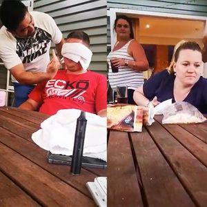 На другарот му направија смешна местенка со врзани очи и вазелин