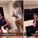 Си го шинал рамото, па другарот реши да му го намести со столчето