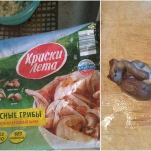 Внимавајте кога купувате замрзната храна! Човекот си купил 400 грама замрзнати печурки, а еве што добил!
