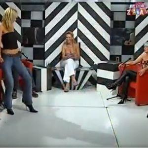 Во меѓувреме во живо на една од српските кафански телевизии