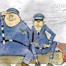 Тројца полицајци – интелектуалци (виц)
