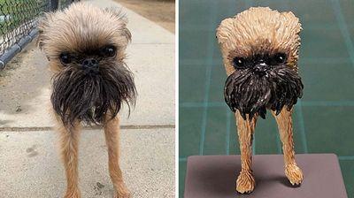 Јапонски уметник ги претвора животните фатени во интересен момент во скулптури, а разултатот е дури посмешен