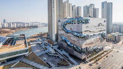 Спектакуларен дизајн на трговски центар во Јужна Кореја