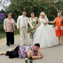 13 Убедливо најужасни свадбени фотографии од руски свадби