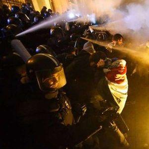 Судир меѓу демонстрантите и полицијата во Будимпешта