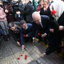 Инцидент при оддавањето почит на убиените во протестите во Тирана пред осум години