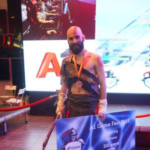Маската на Кратос завладеа на фестивалот за игри