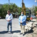 """Реконструкција на улицата """"Востаничка"""", ќе се додадат и приклучоци на водоводната мрежа"""