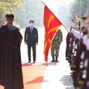 Пендаровски до војниците: Нашиот рејтинг во Алијансата е висок, а заслугата ви припаѓа на вас
