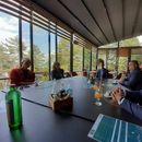 Средба на градоначалникот Христоски со заменик амбасадорот на Швајцарија, Агертер