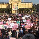 Правда за девојчињата – протести низ Хрватска по случај на силување