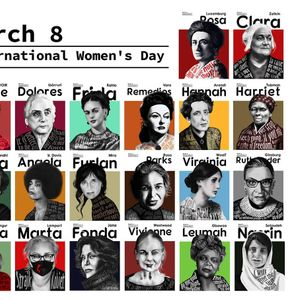 20 моќни жени илустрирани од Зоран Кардула за Меѓународниот ден на жената – 8 Март