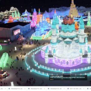 Pogledajte ovaj predivni ledeni grad u kojem ćete se osećati kao u bajci!