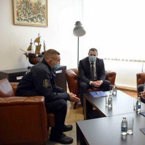 ŠAMPION NA ZADATKU: Marko Nikolić pred meč karijere posetio ministra Vulina!