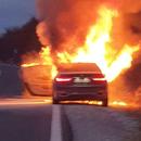 Изгоре автомобил во Прилеп