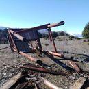 Уништен видиковец на врвот на Водно