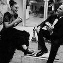 Oскар и бургери пред сендвичара: За оваа слика на славниот пар зборува цел свет
