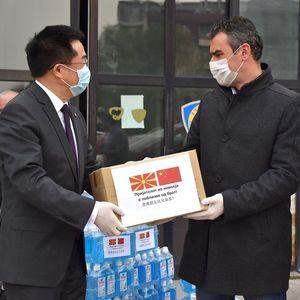 Чулев: Донација во медицинско-хигиенски материјали од Кина за вработените во МВР