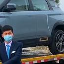Испорака на нов автомобил во доба на коронавирусот на кинески начин (ВИДЕО)