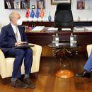 Османи го прими новиот евроамбасадор во земјава: Добиваме искусен дипломат и искрен сојузник на патот кон ЕУ