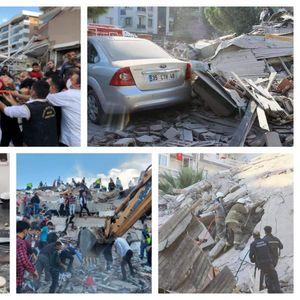 Бројката на повредени во земјотресот во Измир се искачи на 607, спасувачките служби не застануваат. Мицотакис и Ердоган со пораки за сочувство и поддршка