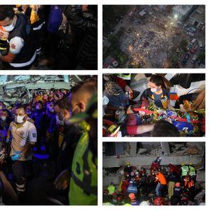 Извлечени живи 100 лица, поминаа по 17 часа под урнатините, ова се нивните приказни