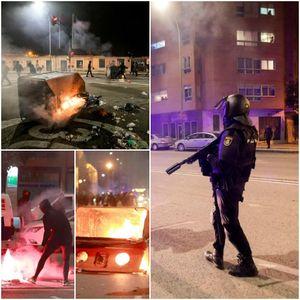 ФОТО+ВИДЕО: Врие низ улиците на Шпанија, повредени 29 полицајци