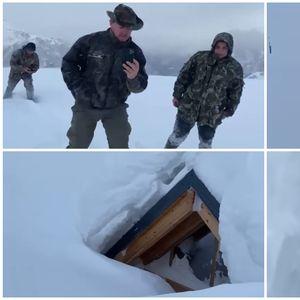 ВИДЕО I Ооо Пјетер! Спасувачите извлекоа старец затрупан под 4 метри снег