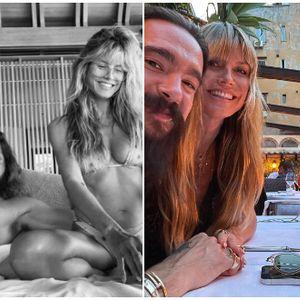 ФОТО | Хајди Клум воодушевува со својот изглед на 48 години: