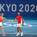 Лош ден за Ѓоковиќ, загуби и во полуфиналето во мешани двојки