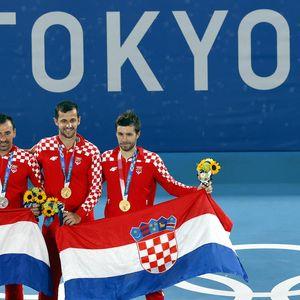 Тенисерите Меткиќ и Павиќ и донесоа ново злато на Хрватска