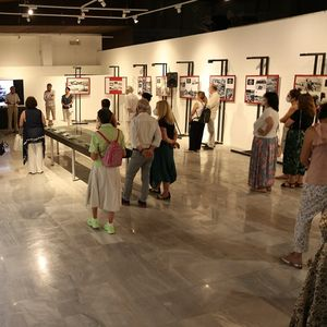 """Изложбата """"Колаж на еден разурнат град"""" е поставена во Музејот на град Скопје"""