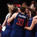 Кошаркарките на Србија и на САД во полуфиналето на Игрите во Токио