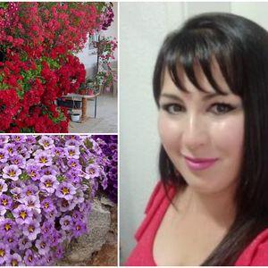 Црвената расцветана убавина на жената со цветно име – Јасмина: Колку и да сум уморна од работа, никогаш не го оставам цвеќето!