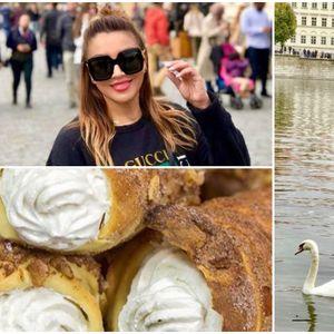 ФОТО | Лила Филиповска замина во Прага: Ако се сретнеме таму ќе одиме да јадеме Трделник
