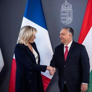 Ле Пен го поддржа Орбан: Европа ќе ги чуствува последиците од мигрантите