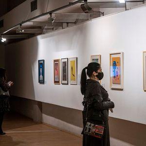 Уметнички дуел помеѓу физичкиот простор и виртуелната реалност на изложбата на Лазе Трипков