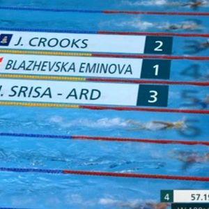 Солиден олимписки настап на македонската пливачка Миа Блажевска-Еминова – победи во нејзината квалификациска група