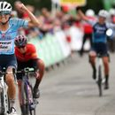 Lizzie Deignan claims emotional stage win and overall lead at Women's Tour