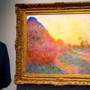 Monet masterpiece 'Meules' sets record with £86m sale at auction in New York