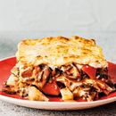 Mushroom, chestnut and celeriac lasagne recipe