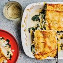 Crab, haddock and leek lasagne recipe