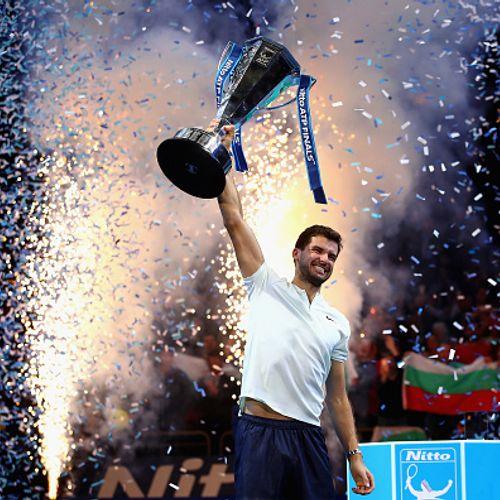 На този ден преди две години: Григор Димитров вдигна най-големия си трофей