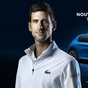 """Джокович стана лице на новата кампания на """"Пежо"""" за електрически автомобили"""
