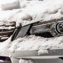 You could be fined up to £1,000 for failing to remove dirt, ice or snow from headlights and indicators