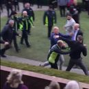 Mass brawl breaks out at Haydock Park races in shameful scenes