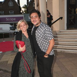Hear'Say reunite as Noel Sullivan and Suzanne Shaw enjoy night out at the theatre