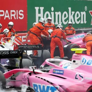 Michael Schumacher's son Mick causes pile up after crashing in F2 race at Monaco