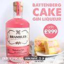 B&M is selling a Battenburg Cake flavoured gin liqueur and it costs £10