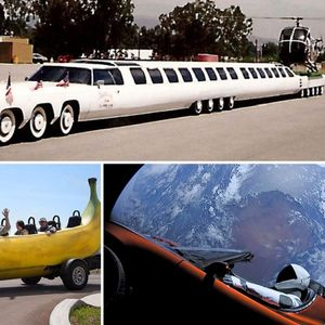 Most bizarre motoring world records – from a 26-wheel limo to the fastest car in space